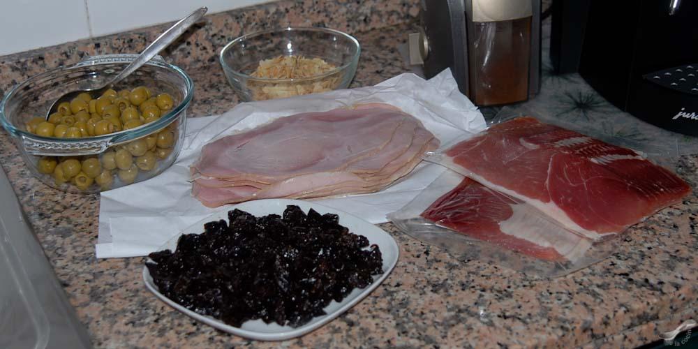 Pan de jamón venezolano ingredientes