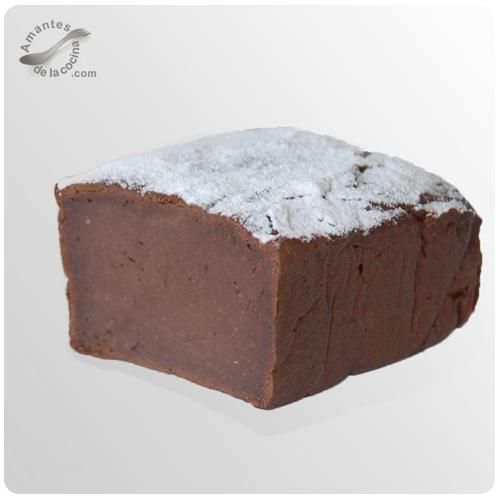Pudín de crema de castañas y chocolate