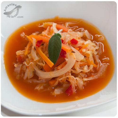 Sopa de vegetales Maravilla