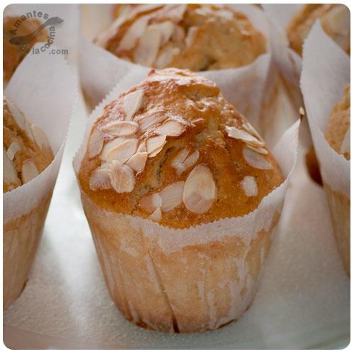 Muffins de avena y almendra