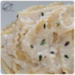 Pasta Mafaldine a la Gorgonzola