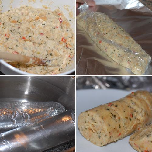Napking Bread Dumplings (Servilletenknodeln) - Elaboración