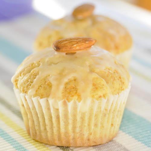 Cupcakes de almendras y mandarina
