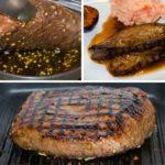 Flank Steak marinado al grill