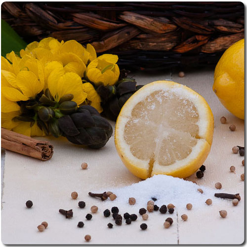 Limones confitados a la sal