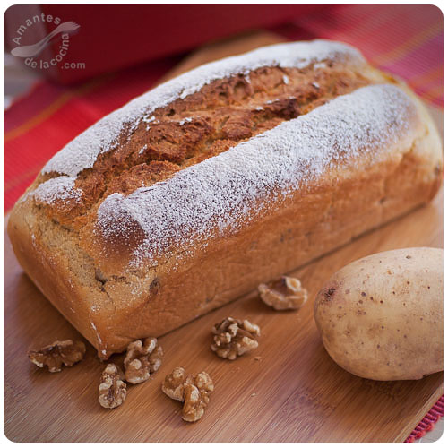 Potato walnut bread (english version) (whole bread)