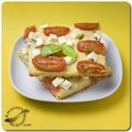 Pizza sin amasar en 1-2-3