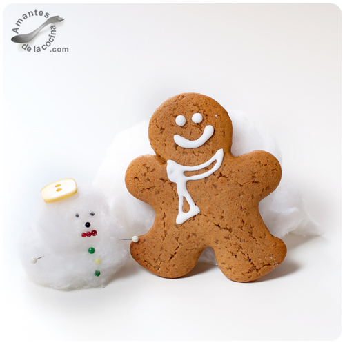 Galletas de hombrecitos de jengibre (Gingerbread)