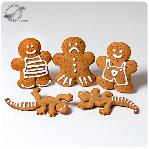 Galletas de hombrecitos de jengibre(Gingerbread)