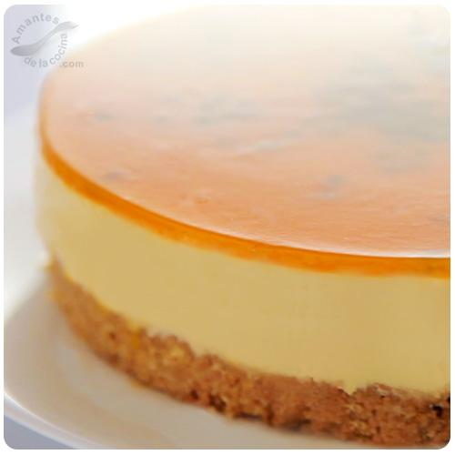 Cheesecake de parchita