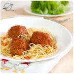 Albóndigas de carne en salsa de tomate
