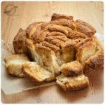 """pan dulce de canela en láminas o """"Cinnamon Sugar Pull-Apart Bread"""""""