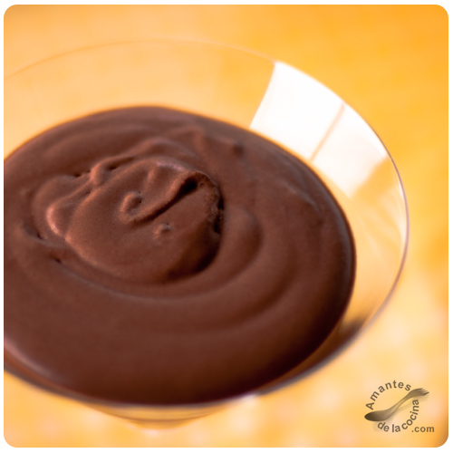 Mousse de Chocolate Molecular