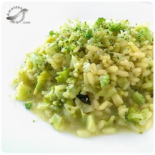 Risotto de brócoli
