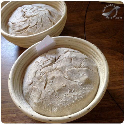 Pan de sémola de trigo duro - Fermentación en cesta (Banneton)