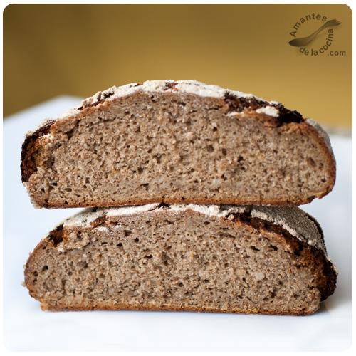 Pan Broa de centeno y maíz - Horneado